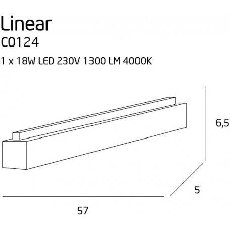 Linear kattovalaisin